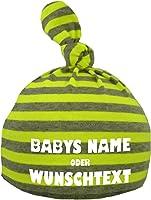 Baby Mütze bedruckt mit Ihrem WUNSCHTEXT / in 9 Farben