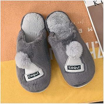 WLG Flip Flop, zapatillas, zapatillas de algodón, algodón de las ...
