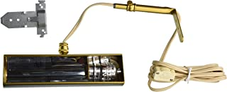 product image for House of Troy T8-1 Classic Traditional 1-Light Picture Light, Gold Finish