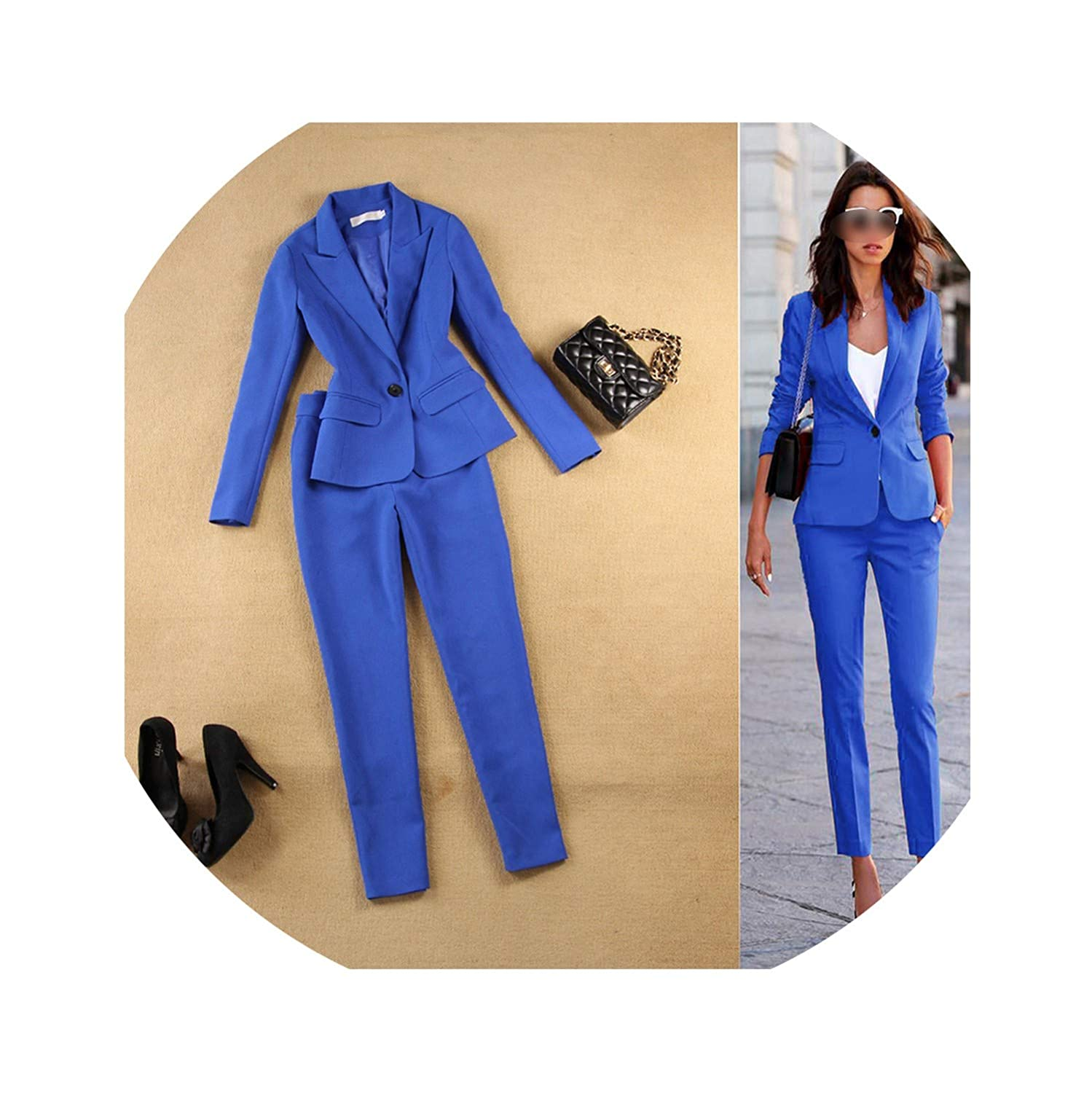 1 Our ideasBlazers Spring and Summer Women's New Slim Minimalist Suit +9 Small feet Pants tsuit Commuting Women Suits