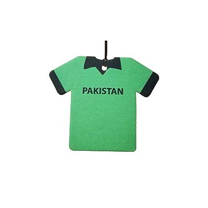 f41c6b3ec Amazon.com  Personalized Pakistan Cricket Shirt Car Air Freshener   Automotive