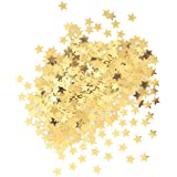 Metallic Star Confetti, Gold