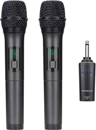 Kithouse K380A Wireless Microphone Karaoke Microphone