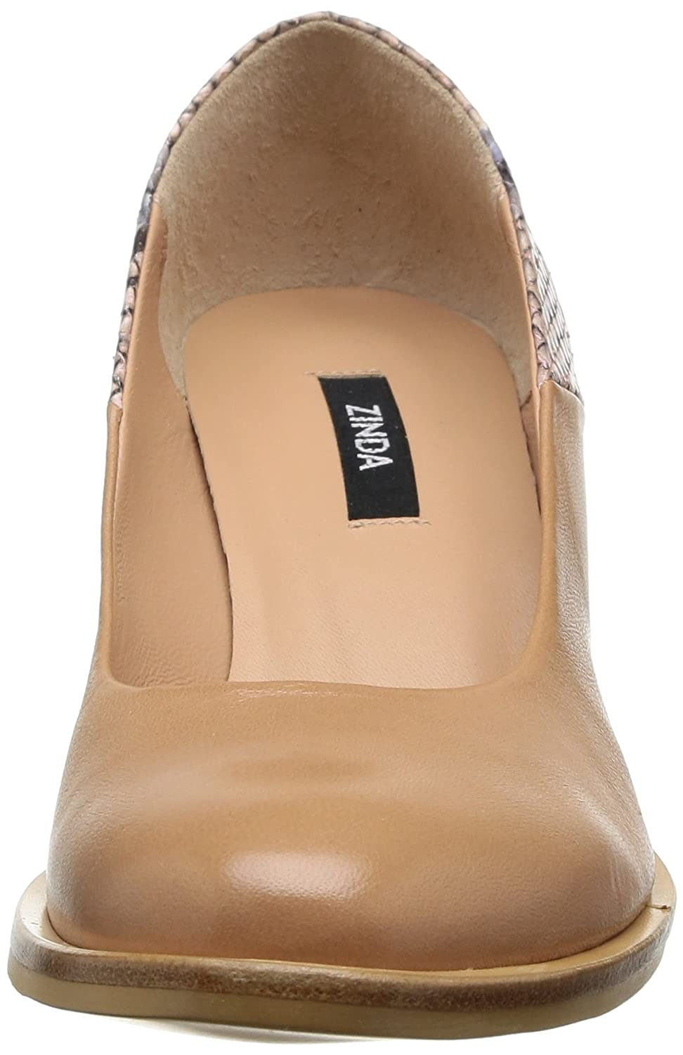 Zinda 1421, Damen Pumps Rosa Rose (Nude) 39: