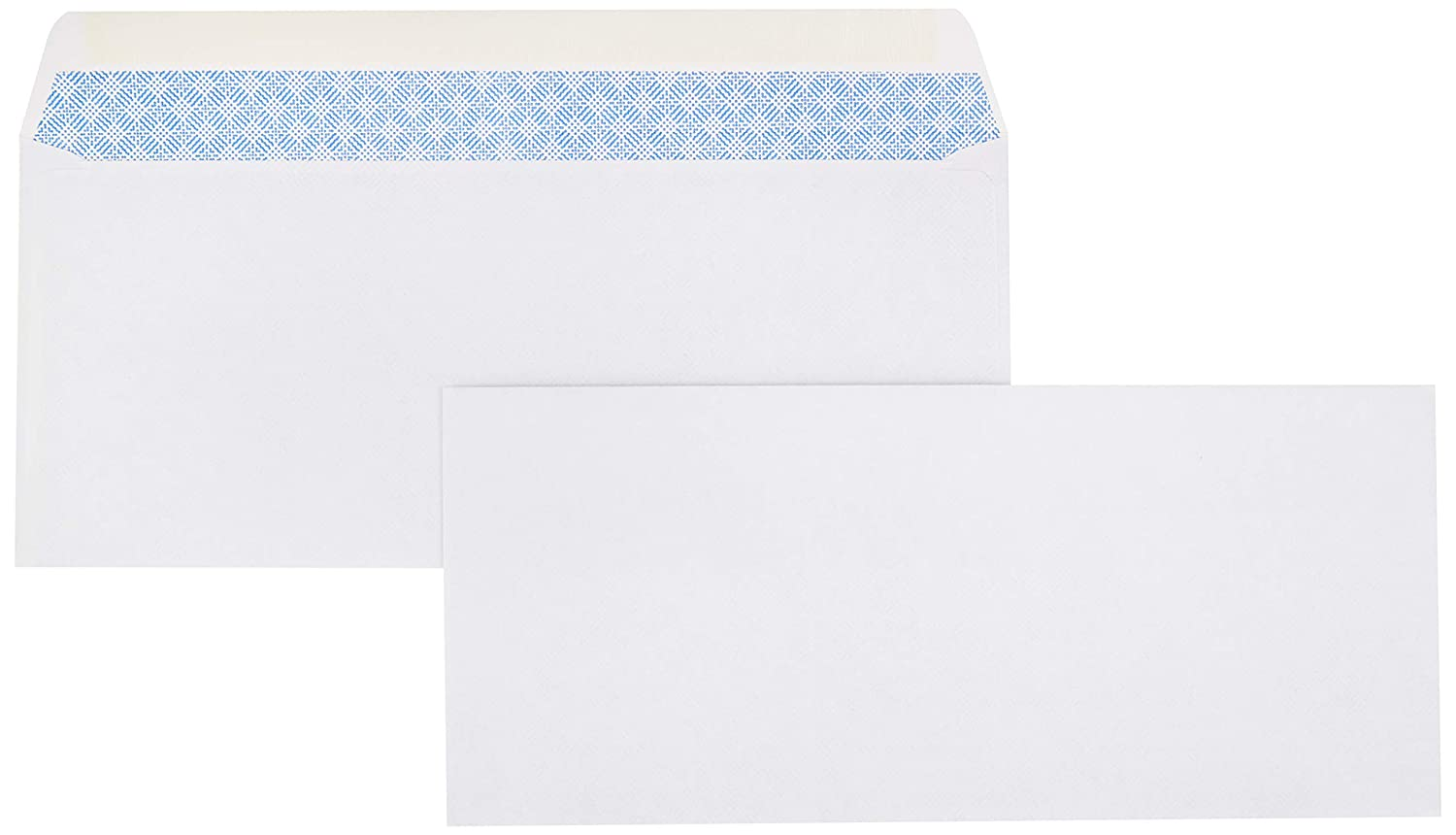 AmazonBasics #9 Envelopes, Gummed Seal, Security Tinted, 100-Pack