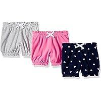 Amazon Essentials Baby Girls 3-Pack Bloomer