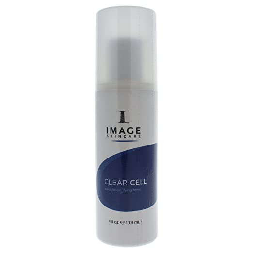 Image Clear Cell Clarifying Tonic 4 Oz 10PCS/Set Mineral Mud To Black Nose Film Contractive Pore Purifying Blackhead