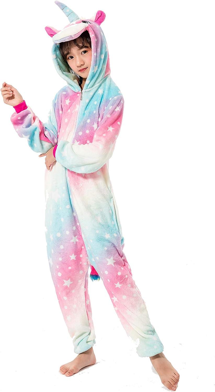 Navidad Pijamas Unisexo Cosplay Traje Disfraz Ni/ña Ni/ño Animal Pyjamas Ropa Halloween
