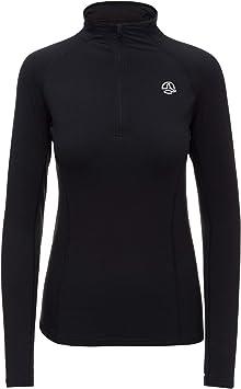 Ternua ® Camiseta Alma 1/2 Zip LS W - Camiseta para Mujer Mujer: Amazon.es: Ropa y accesorios