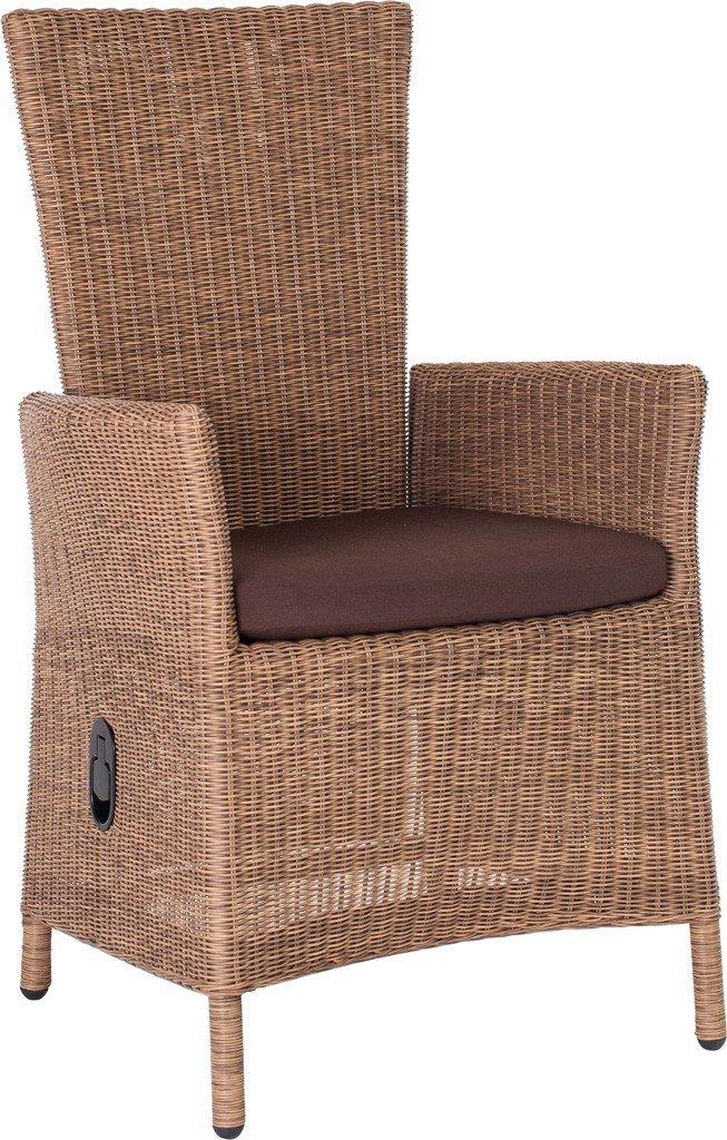 Sessel Sortino mit Kissen Farbe: Natur antik / Braun