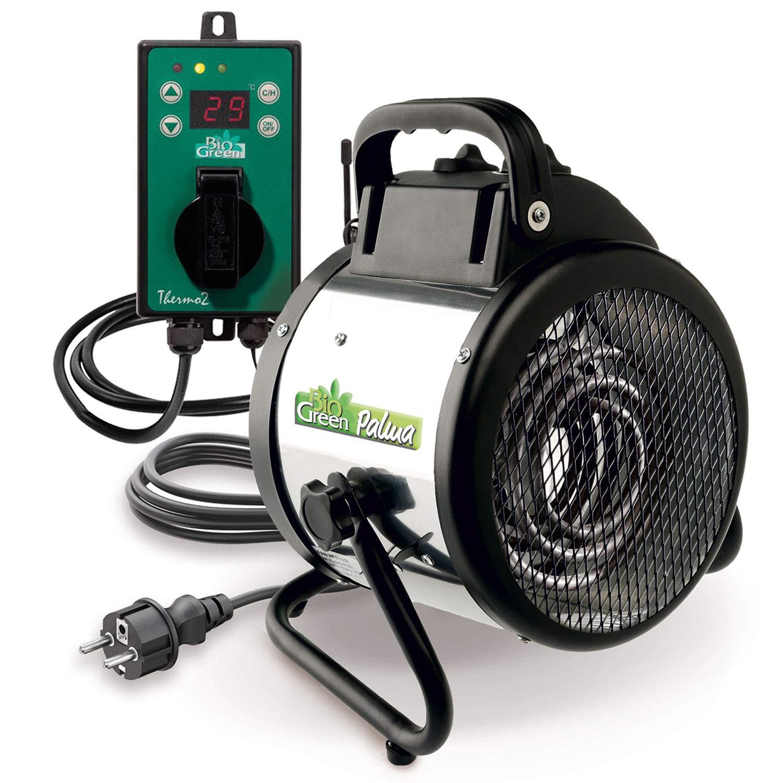 Bio Green electric fan heater Palma digital, 2000W - with Digital thermostat PAL 2.0