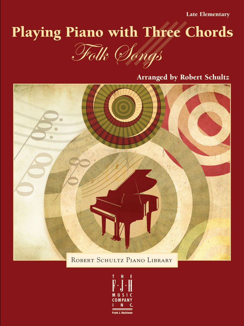 Download Playing Piano with Three Chords - Folk Songs pdf