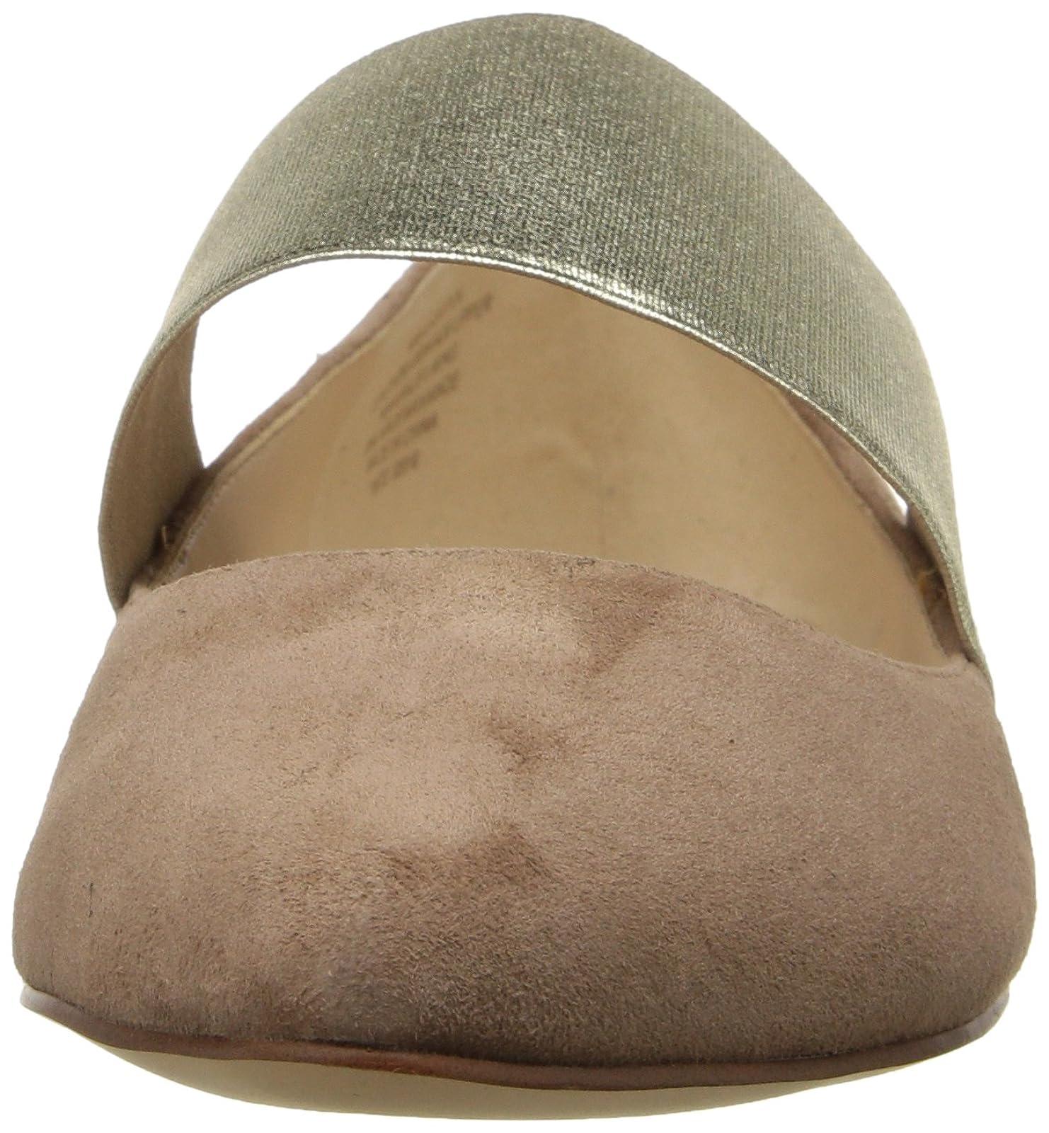 Nine West Women's Seabrook Suede Ballet Flat 5 M US - 4