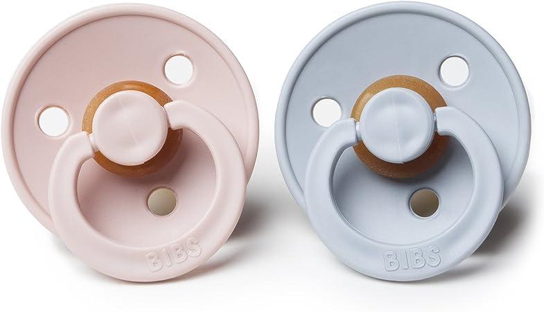 Bibs Sucettes En Caoutchouc Naturel BPA Nuage//Fard /À Joues 0-6 Mois B/éb/é