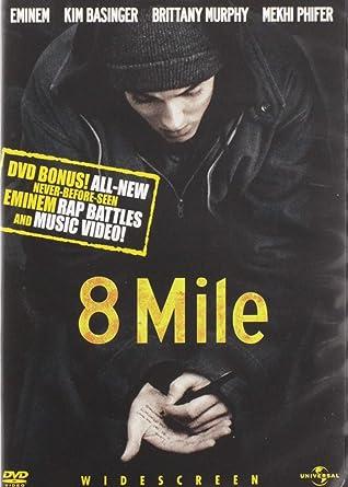 8 Mile Widescreen Edition Eminem Kim Basinger Mekhi Phifer Brittany Murphy Evan Jones Omar Benson Miller Eugene Byrd De Angelo Wilson Anthony Mackie Taryn Manning Michael Shannon Curtis Hanson Brian Grazer Curtis