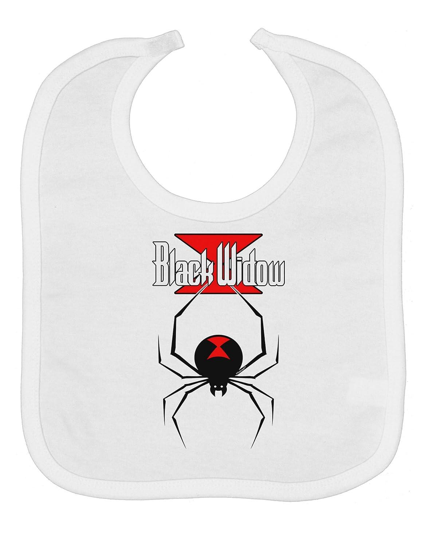 Amazon Com Black Widow Spider Design Logo Baby Bib