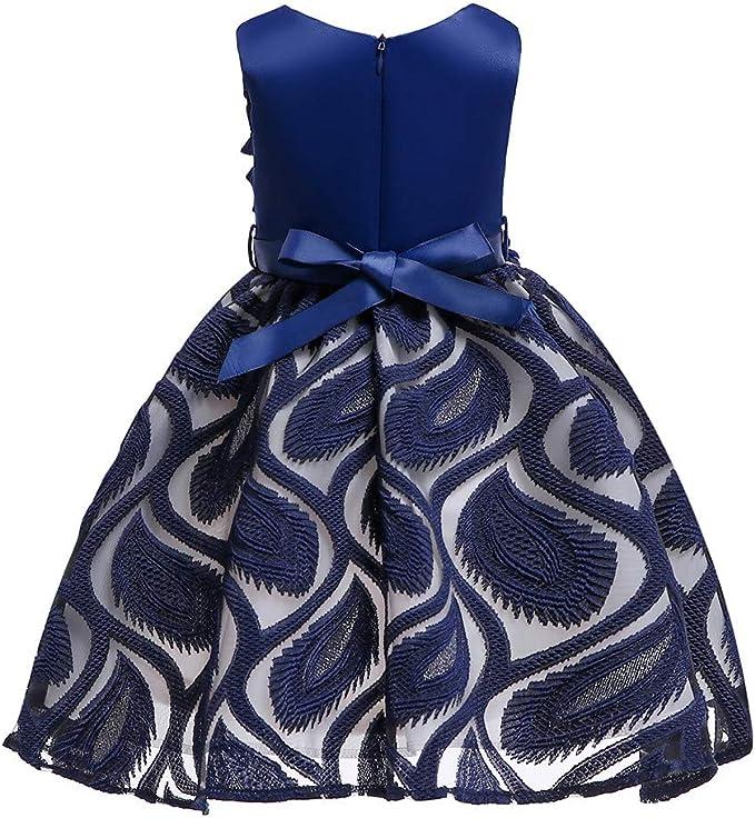 Amazon.com: ZEFOTIM vestido de bebé para niñas, vestido de ...