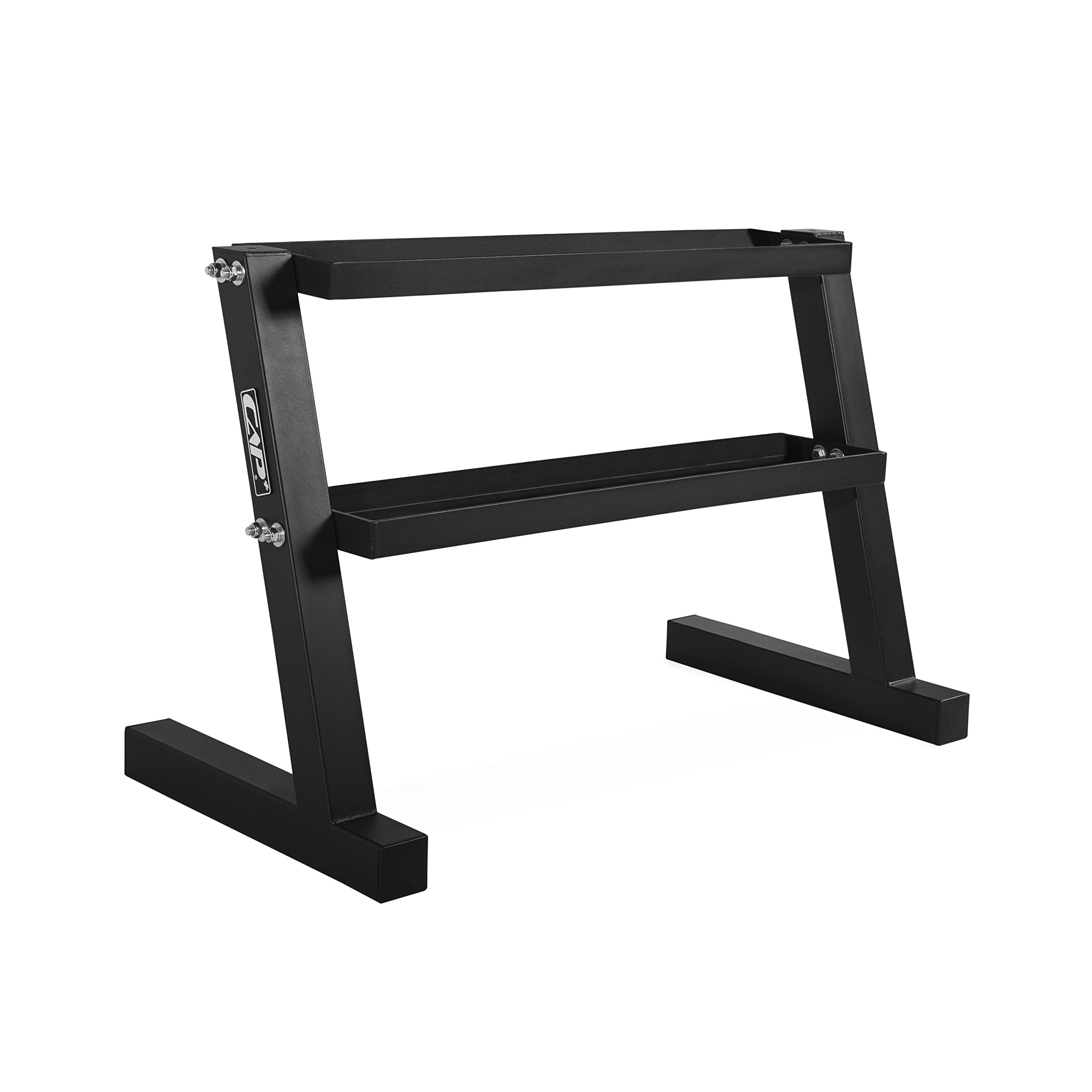WF Athletic Supply Short Two-Tier Kettlebell Rack