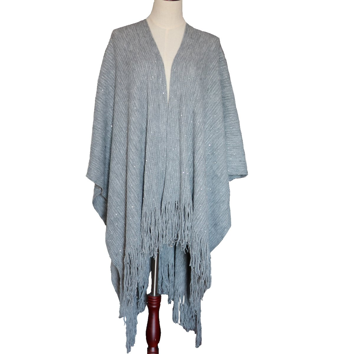 ZISUEX ACCESSORY レディース B07768NQHG Gray-sequin Gray-sequin