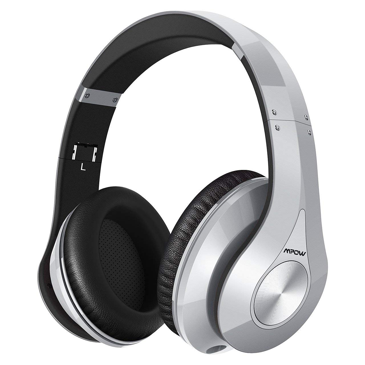 506ac2df33406c Mpow 059 Bluetooth Headphones Over Ear, 20h Playing, Hi-Fi Stereo Wireless  Headset, Foldable, Soft Memory-Protein Earmuffs, Built-in Mic and Wired  Mode for ...
