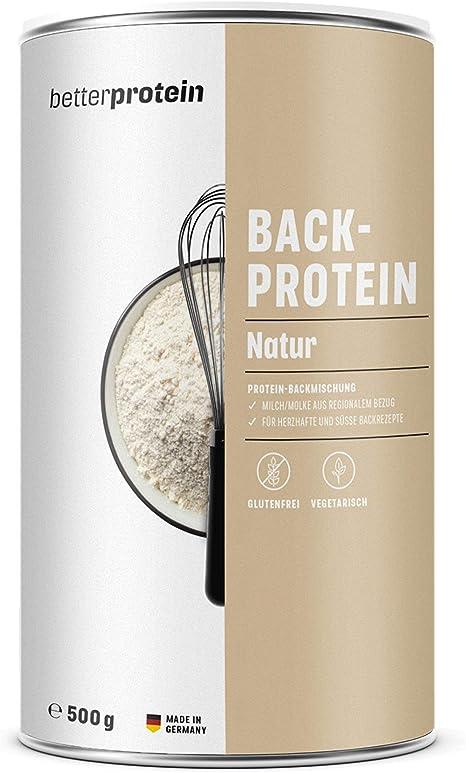 BetterProtein® - Proteína para hornear pan, pasteles, galletas, magdalenas o brownies (500 g)
