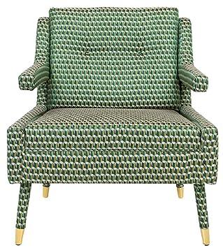 Casa-Padrino sillón de Lujo Verde/Oro 76 x 88 x H. 89 cm ...