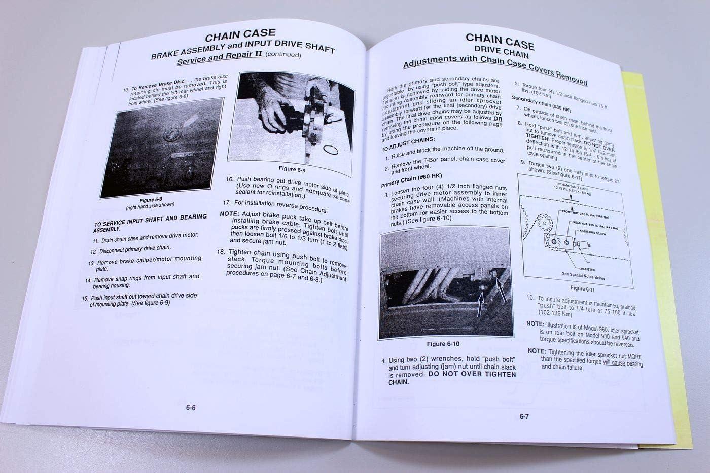 Mustang 930 940 /& 960 Skid Steer Loader Workshop Manual