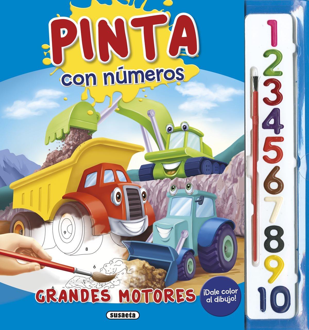Download PINTA CON NUMEROS. GRANDES MOTORES PDF