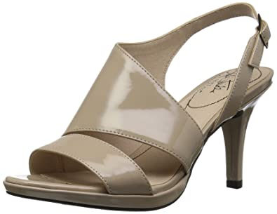 6fc0925b961 LifeStride Women s Vicky Heeled Sandal Taupe 10 ...