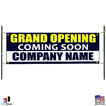 Grand apertura venir pronto promoción cartel ahora Open ...