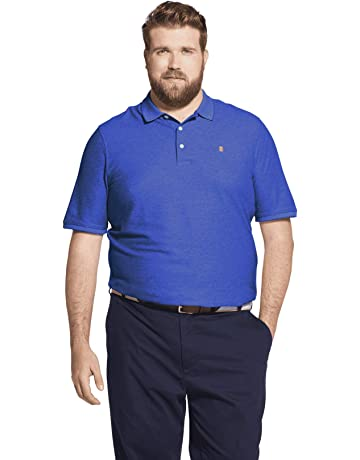 889d88fc8788 IZOD Men s Big and Tall Advantage Performance Solid Polo Shirt