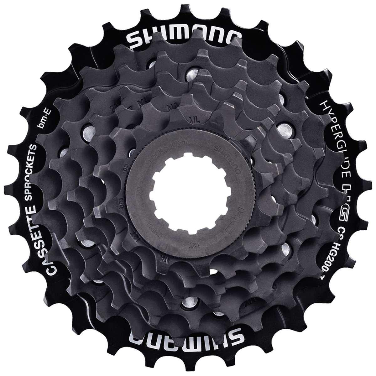 Shimano 7-Speed マウンテンバイクカセット - CS-HG200-7 12-32