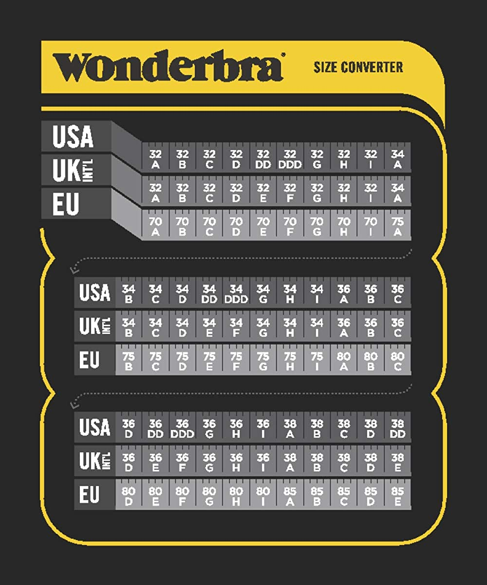 Wonderbra Womens Ultimate T-Shirt Underwire Bra
