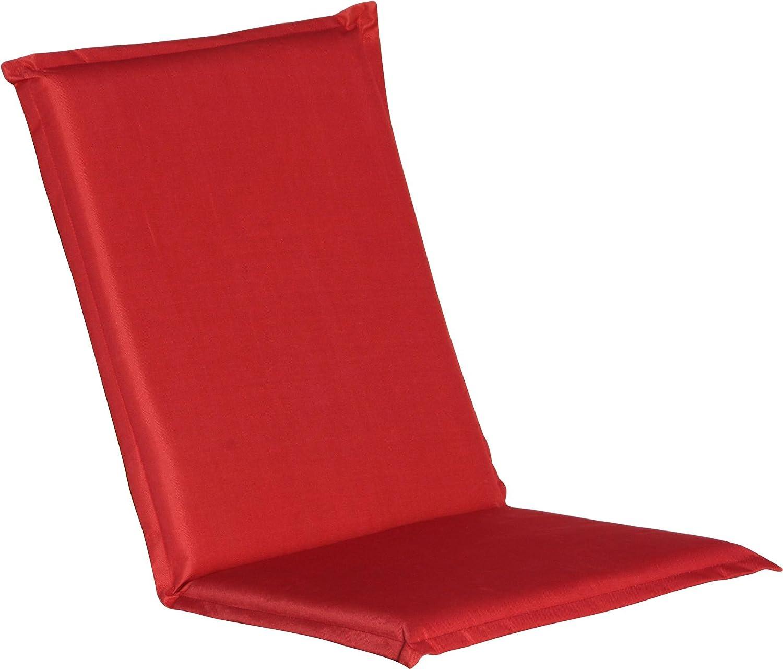 Ib Style Sale 4er Set Gartenstuhlauflagen I Sitzkissen I Bezug Waschbar Und Mit Reißverschluss I Farbe Bordeaux