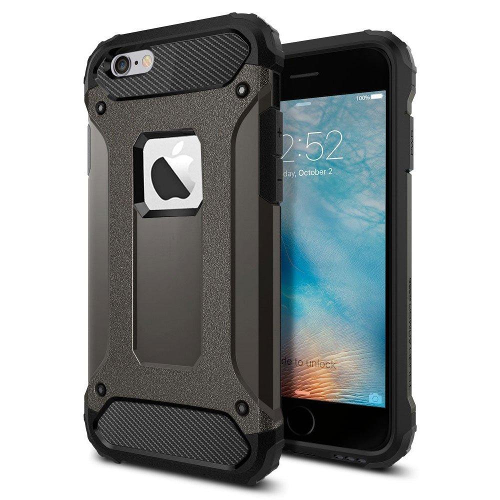 9dff6edf338 Sonolife - Funda Protectora Doble Capa de Alto Grado de Protección  Compatible con iPhone 6 / 6s: Amazon.com.mx: Electrónicos