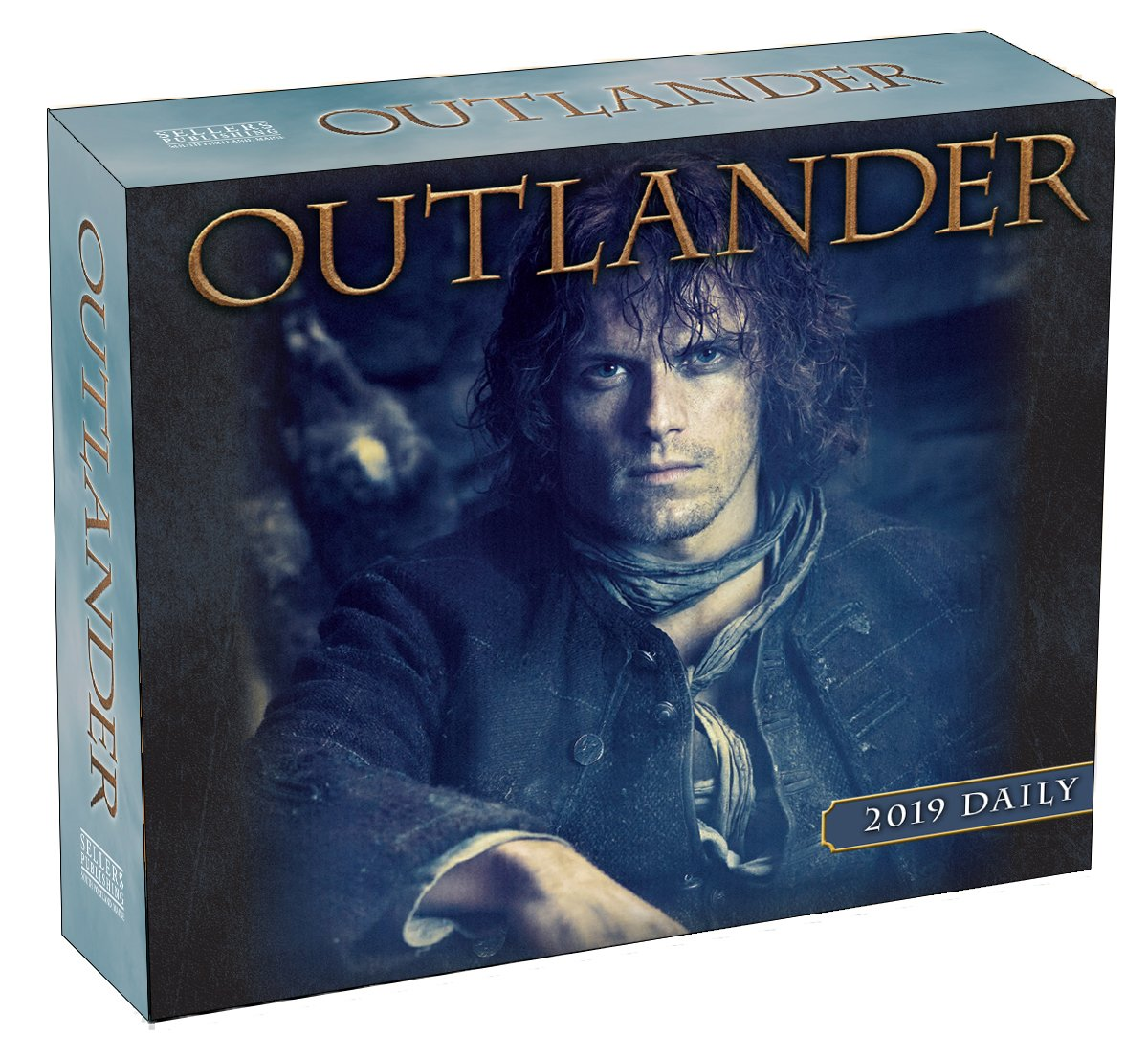 2019 Outlander Boxed Daily Calendar: by Sellers Publishing, 6 x 5; (CB-0519)