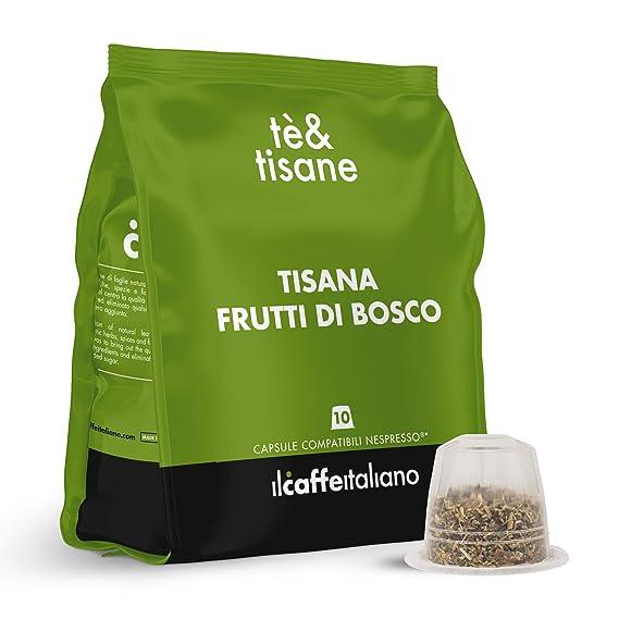 FRHOME - 50 Cápsulas de Tisana compatibles Nespresso - Tisana ...