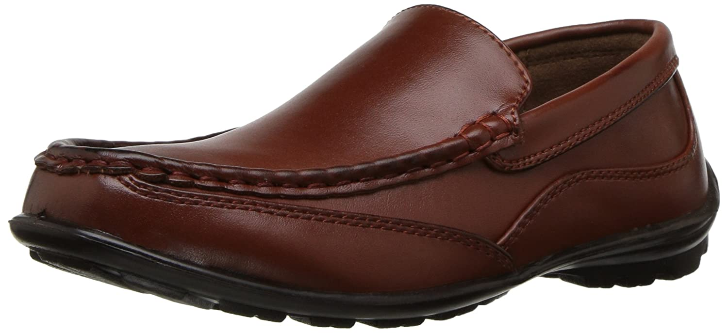 Deer Stags Kid's Booster Driving Moc Style Dress Comfort Loafer (Little Kid/Big Kid) -
