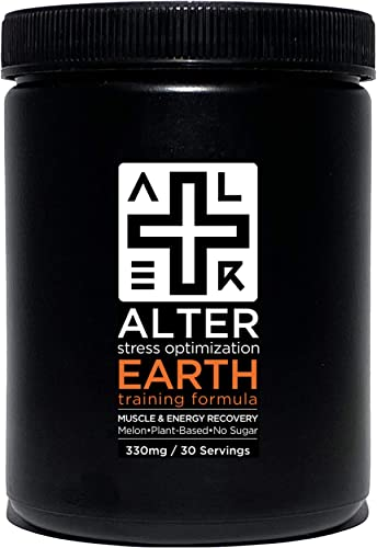 Alter Earth Plant-Based Optimized BCAAs Glutamine Resist Fatigue Recover Muscle Ultra-Clean Professional-Grade Bio-Natural Vegan. No Sugar. Non-GMO. No Additives. 30 Servings