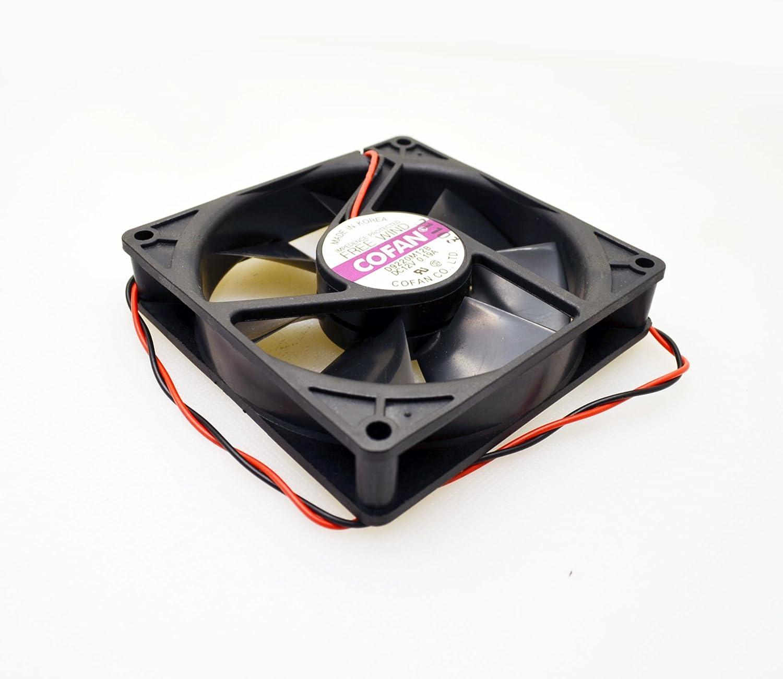 CoFan Premier Grade 92mm X 20mm Low Profile 12V Quiet Brushless Slim Fan