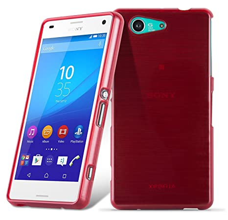 Amazon.com: Cadorabo Case Works with Sony Xperia Z3 Compact ...