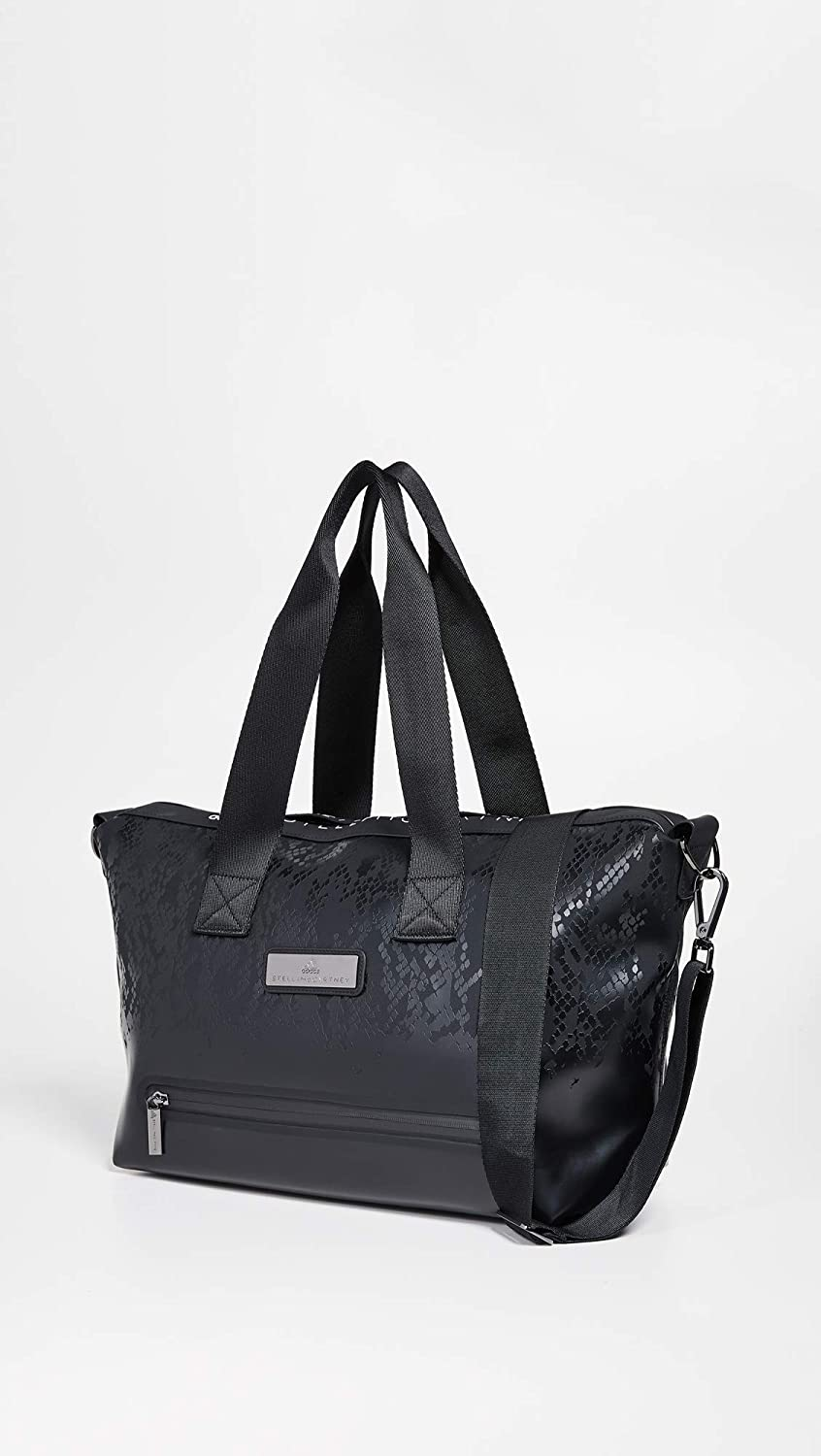b8a132a494adf Amazon.com: adidas by Stella McCartney Women's Studio Bag Tote, Black, One  Size: Shoes