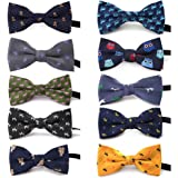 TopTie Polka Dots Bow Tie, Baby Boys Girls Dog Cat Bowties Collar, 10 PCS Assorted