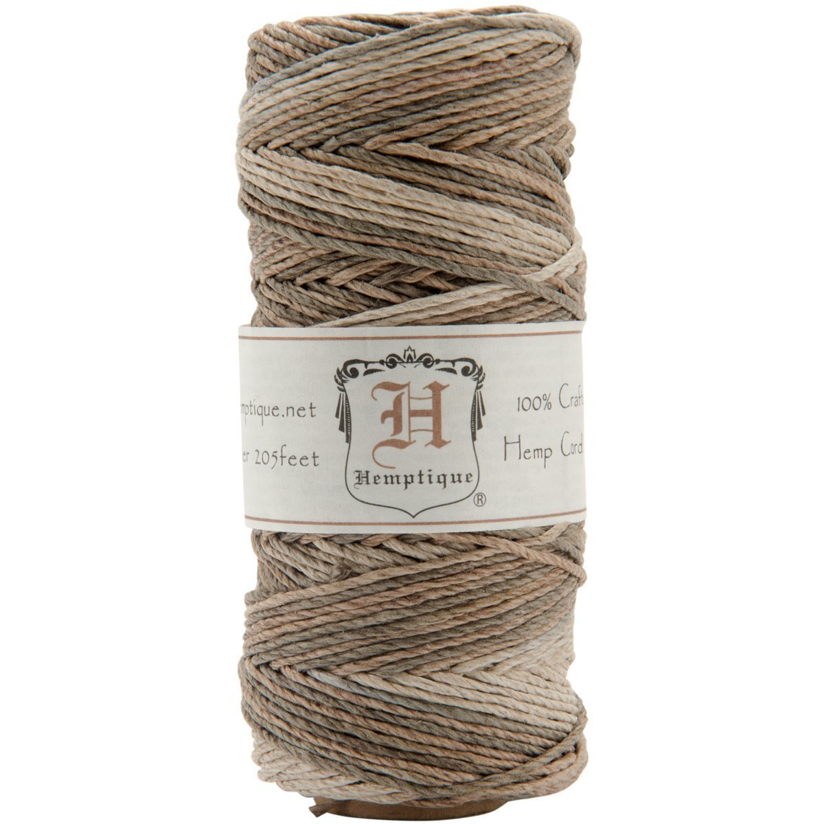 Hemptique. hs20va earthy Cord Spool 20-Pound, Earthy (Limited Edition)