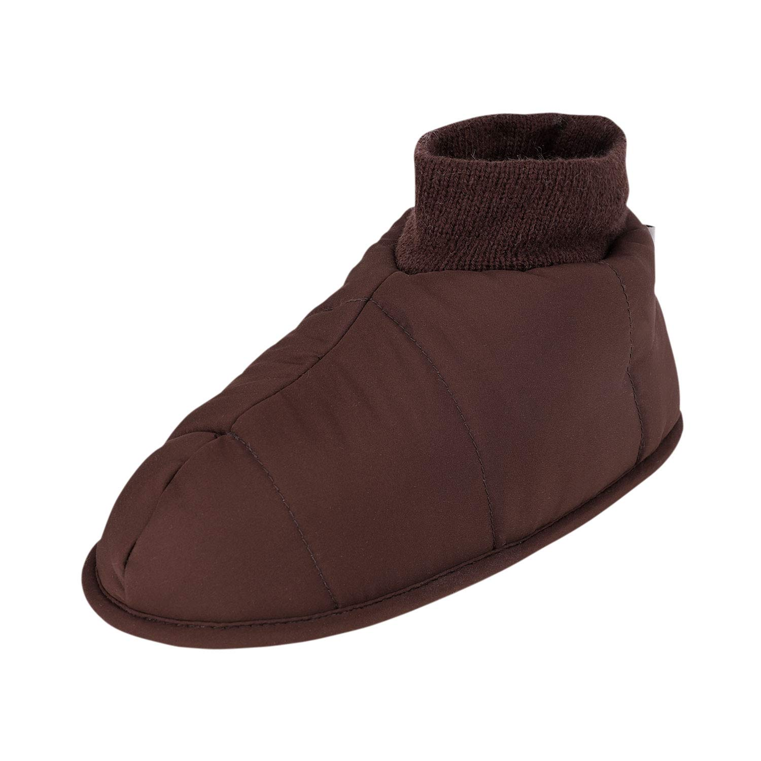 1a688c016 Amazon.com | Holiberty Waterproof Cozy Down Warm Fleece Indoor Slippers  Bootie Shoes Ankle Snow Boots | Slippers