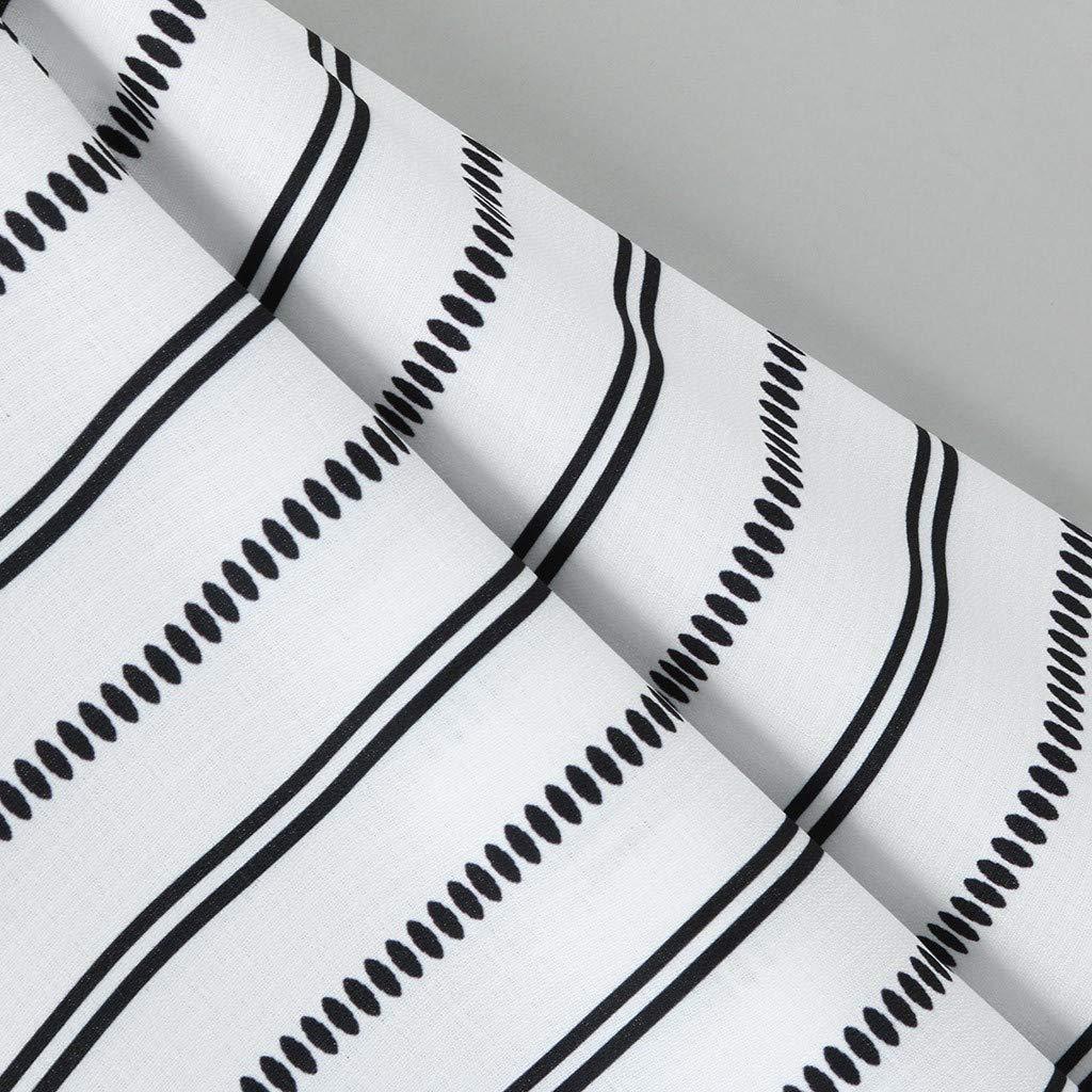 UROSA Mens Summer Casual Long Sleeve Printed Lapel Shirt Loose Tops 2019