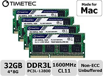 21.5-Inch DDR3. SO-DIMM DDR3 NON-ECC PC3-10600 1333MHz RAM Memory 2.8GHz Intel Quad-Core i7 - 27-Inch 4 x 8GB DDR3 - Mid 2011 For Apple iMac Series 2.8GHz Intel Quad-Core i7 - A-Tech 32GB KIT