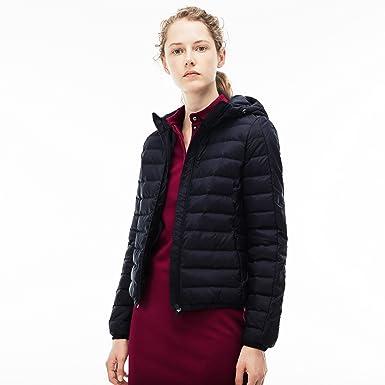 6c53041b55 Lacoste - Manteau - Femme - Bleu - 62: Amazon.fr: Vêtements et ...