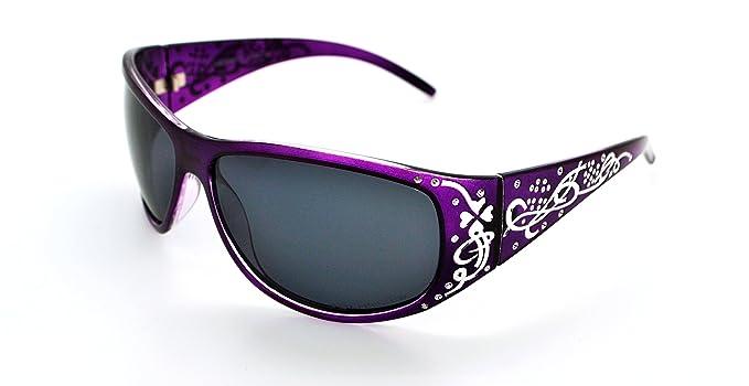 Vox - gafas de sol polarizadas Hot Fashion a la moda clásicas con funda