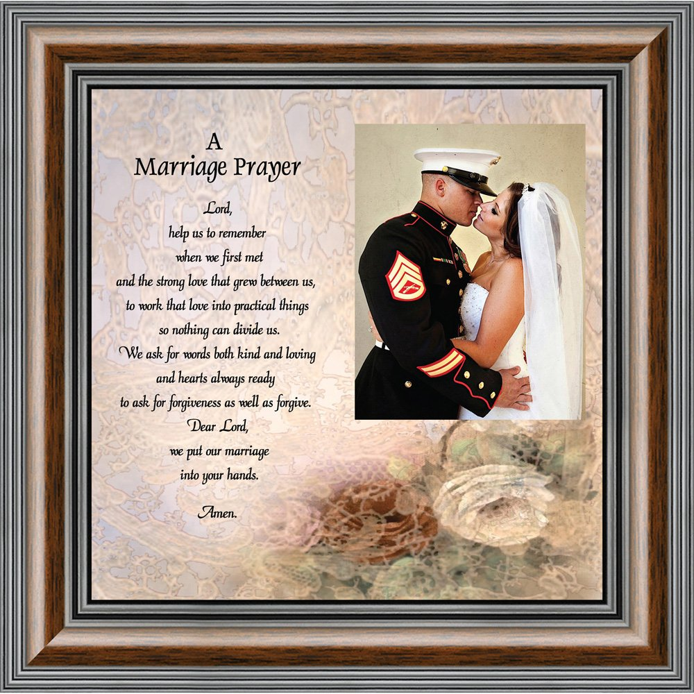 Prayer for you Marriage, Personalized Picture Frame, 10X10 6757W